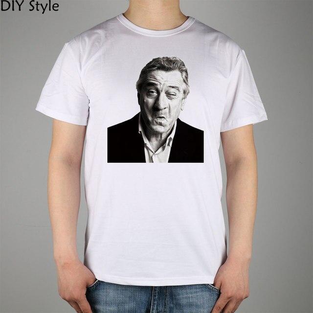 Robert De Niro Der Pate Kurzarm T Shirt Top Lycra Baumwolle Männer T