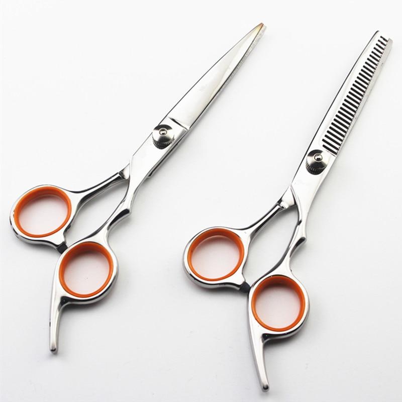 все цены на professional 6 inch 4cr hair scissors cut hair cutting salon scissor makeup makas barber thinning shears hairdressing scissors онлайн