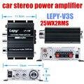 Mini amplificateur de puissance à sortie 2ch 12V | 25W X2 RMS  voiture HI-FI numérique stéréo amplificateur de puissance