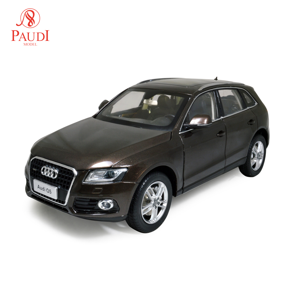 Paudi Model 1/18 1:18 Scale Audi Q5 2014 SUV Brown Diecast