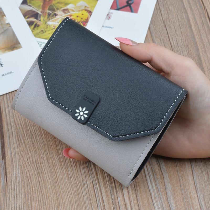 Wallet Female 2018 Cute Short Women Wallets Mini
