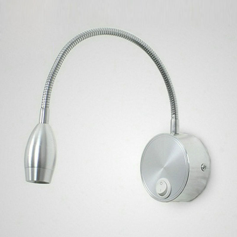 Led Wall Reading Light: Aliexpress.com : Buy 3w Led Wall Light Bedside Lamp