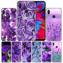 infinity on purple Silicone Case Cover for Xiaomi Mi 9 8 Play A1 A2 Redmi Note 7 6 6A 5 Plus S2 GO Lite Pro Pocophone F1(China)