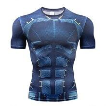 Batman Superman Printed Bike Jersey Men Women Compression Shirt 2018 Summer NEW Cosplay Sport Clothing Gym Cycling Base Layer