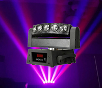 Wholesale 4 In 1 RGBW 5 Eyes Led DJ Light With 10Wx5pcs CREE Leds Sharpy Moving