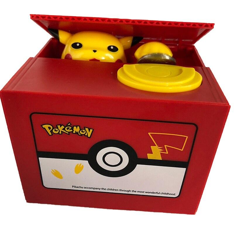 Panda Cat Thief Money Boxes Toy Piggy Banks Gift Kids Money Boxes Automatic Stole Coin Piggy Bank Money Saving Box