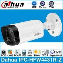 Dadahua IPC-HFW4431R-Z 4MP POE IP камера 80 м MAX ИК ночь 2,7 ~ 12 мм VF объектив моторизованный зум Автофокус Пуля безопасности CCTV