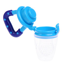 New Infant Newborn Baby Pacifier Fresh Food Milk Nipples Safe Baby Feeding Supplies Nipple Teat Pacifier Bottles
