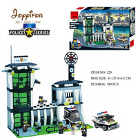 Joyyifor 589PCS Police station Car Ninjagoes sets Building Blocks Figures children gift Toys Compatible without retail box