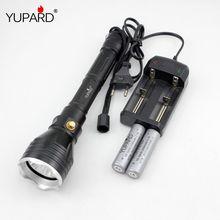 YUPARD unterwasser-taucher Taschenlampe XM-L2 T6 gelb licht Lampe Wasserdichte tauchen 100 mt + 18650 akku + ladegerät