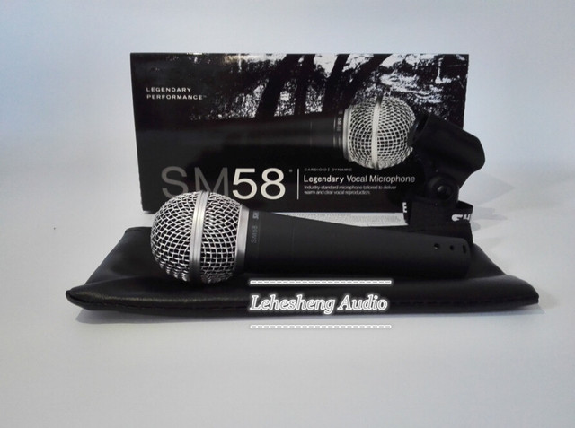 Top quality SM 58LC Free shipping vocal Karaoke microfone dynamic wired handheld microphone SM 58