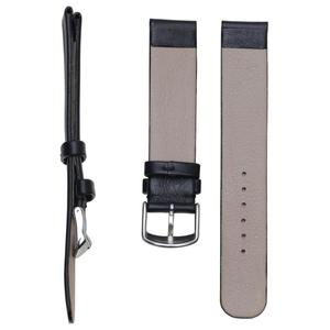 Image 2 - Pesno جلد طبيعي حزام (استيك) ساعة ساعة سوداء حزام 12 16 18 20 24 مللي متر مناسبة ل رادو Esenza حزام سوار للرجال والنساء