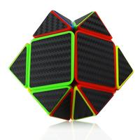 Pyramid Speed Cube Carbon Fiber Sticker Twisty Puzzle For Kids Drop Shipping Y829