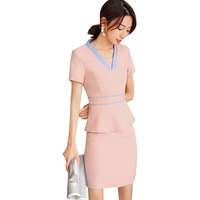 New Korean Style Spa Health Club Beauty Salon Work Wear Hospital Nurse Uniform Tattoos Beautician Work Suit High Quality
