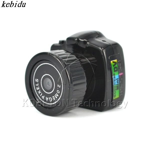 Micro Portable Digital HD CMOS 2.0 Mega Pixel Pocket Video Camera Audio Camcorder Mini Video Camera 480P for DV DVR Recorder