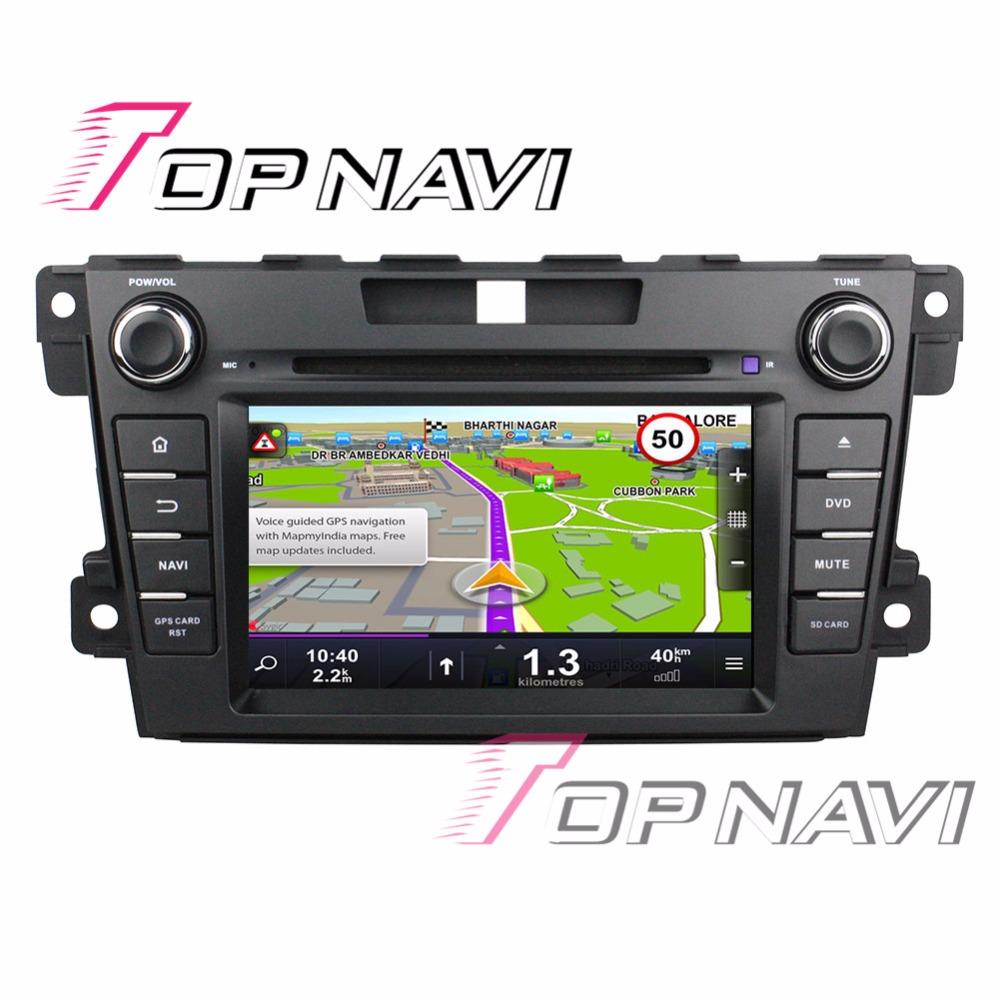 TOPNAVI 7 Android 7.1 Car Media for Mazda CX-7 2012 2013 Auto GPS Navigation Can bus Wifi Bluetooth DVD Multimedia Players