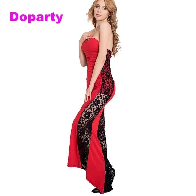 Doaprty high low dress elegant gossip pageant girl red mermaid ...