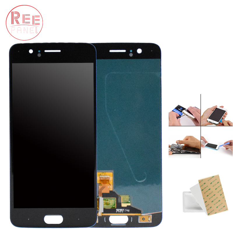 100% Testé LCD Affichage Pour oneplus 5 1 + 5 A5000 LCD Panneau Écran Tactile Digitizer Assemblée Pour Un Plus Cinq a5000 oneplus 5 LCD