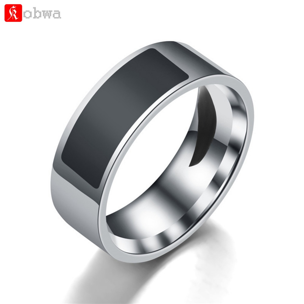 Smart-Ring NFC Titanium-Steel Android Waterproof Intelligent-Finger for Multifunctional