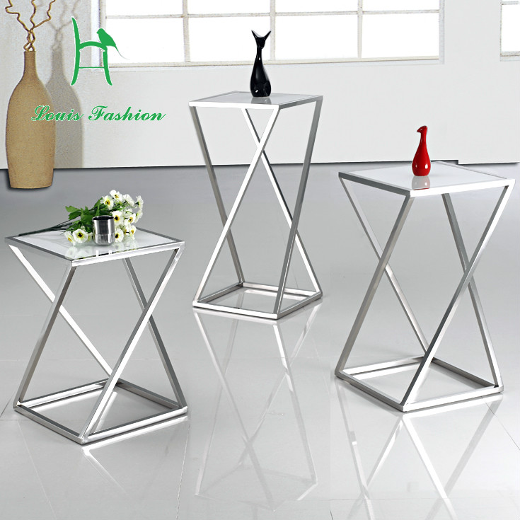 Incredible Us 99 0 Fashion Black White Stainless Steel Sofa Side Table Small Tea Table In Coffee Tables From Furniture On Aliexpress Inzonedesignstudio Interior Chair Design Inzonedesignstudiocom