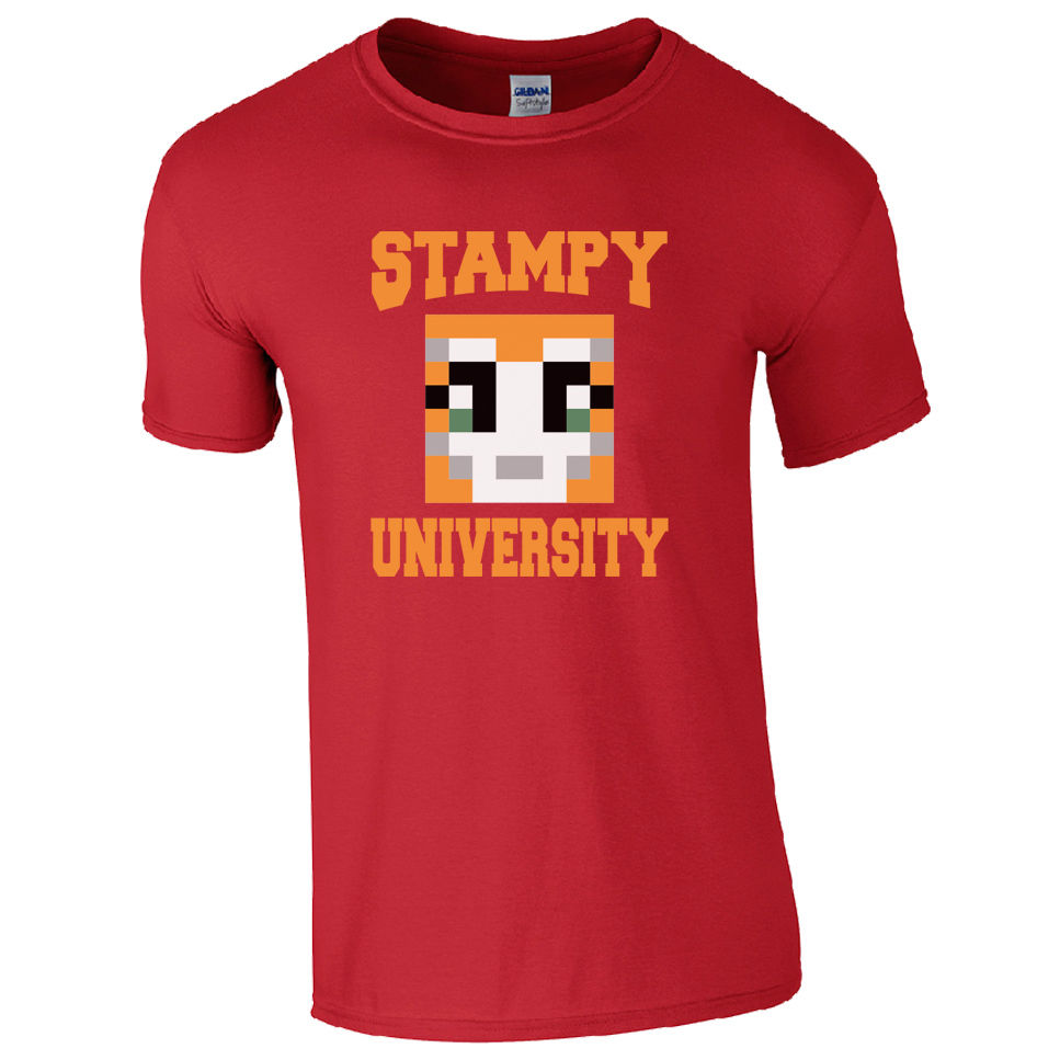 US $17 69 |Stampy University T Shirt Stampylongnose Inspired Mr Gamers  Youtube Cat Top 100% Cotton Men Women T Shirt Tees Custom-in T-Shirts from