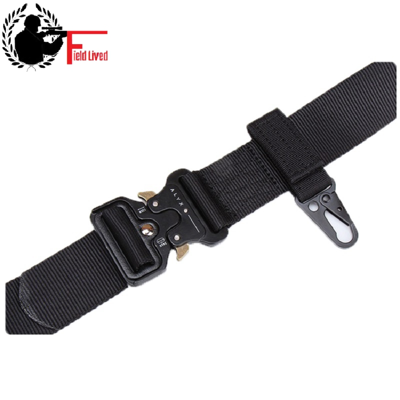 Outdoor Tactical Nylon Ribbon Key Chain Military Fan Multi-purpose Mountaineering Olecranon Hook Molle Hanging Buckle