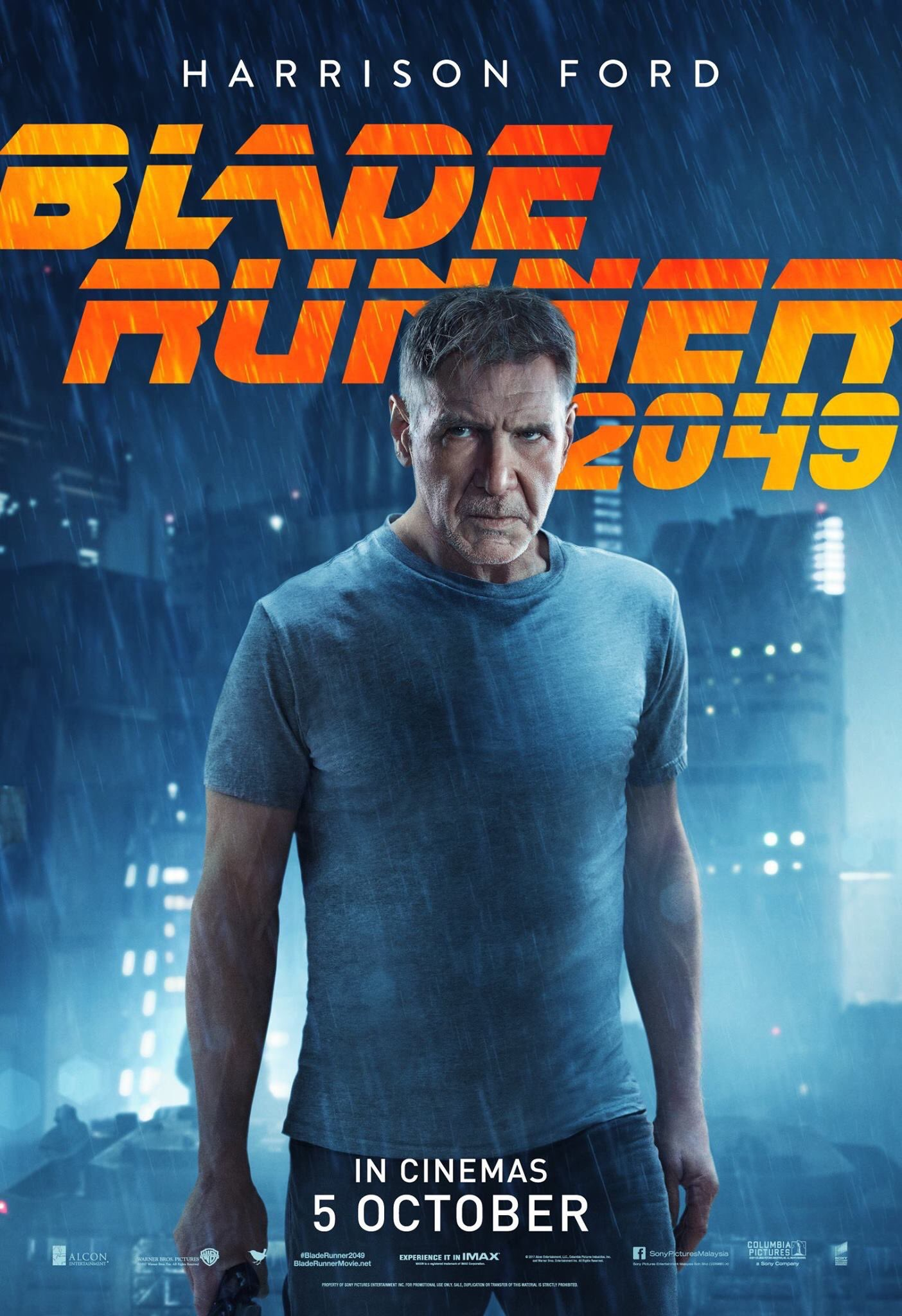 harrison in sci fi blade runner movie posters retro vintage kraft poster canvas wall sticker home decoration gift for kids