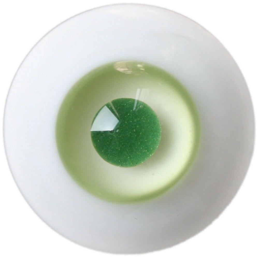 ET18# 8mm Light Green SD DZ DOD LUTS BJD Dollfie Glass Eyes Outfit [wamami] black leather cap hat 1 3 sd dod dz luts bjd dollfie