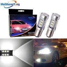 2pcs 1157 12 5630 SMD BAY15D Led Bulb Chip High Power lamp p21/5w led car bulbs brake Lights Source parking 12V White Red Yellow