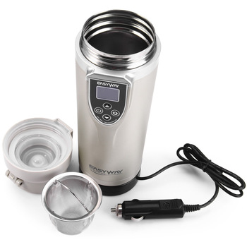 12-24V Universal Portable Car Winter Heating Cup Adjustable Temperature Car Boiling Mug Electric Kettle Boiling Vehicle Thermos