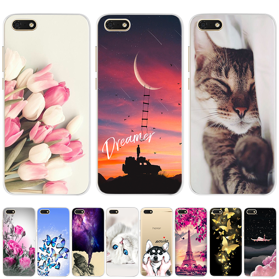 Soft Silicone Cover For <font><b>Huawei</b></font> Y5 <font><b>2018</b></font> Y5 Lite <font><b>2018</b></font> TPU Cute Case for <font><b>Huawei</b></font> Y5 <font><b>Y</b></font> <font><b>5</b></font> Prime <font><b>2018</b></font> <font><b>Fundas</b></font> Coque Phone Capas Bumper image