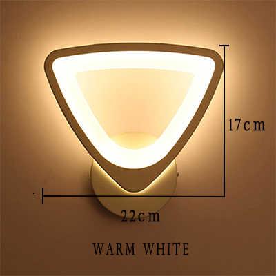 Современный светодиодный настенный светильник Современный дизайн 12 Вт гостиная спальня лаконичный дизайнерский Декор акриловая комнатная настенная лампа Домашний Светильник 8508