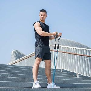 Image 2 - Xiaomi short de secagem rápida masculino, casual, reflexivo, seda, sem fettered, fitness, para corrida