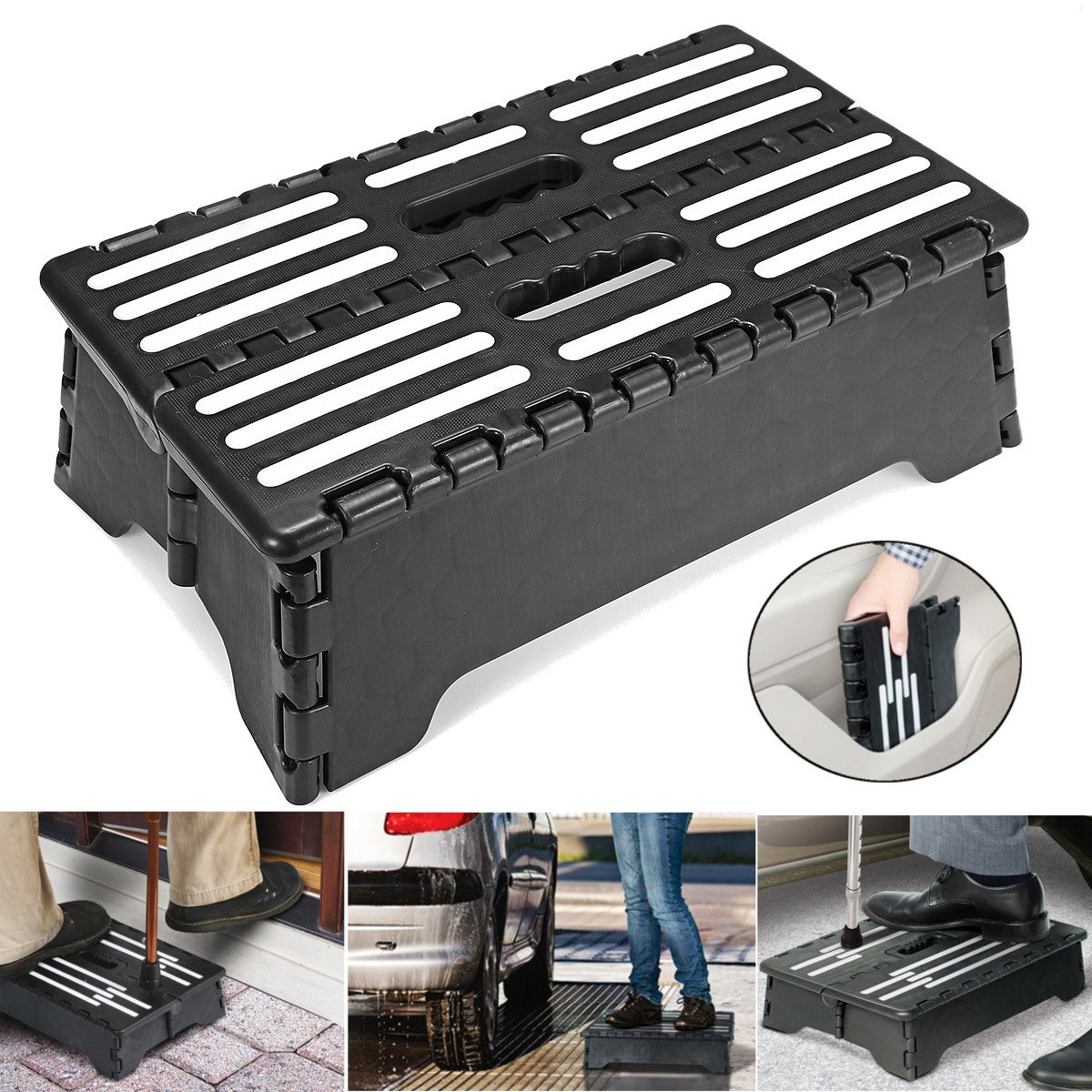Portable Folding Step Stool Ladder Elderly Pregnant Foot Stool Bathroom Travel Toilet Elderly Constipation Assistant Bench Tools