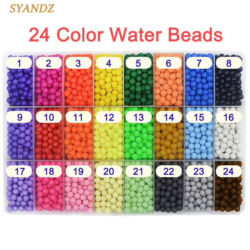 1524 Color Water Hama Beads toys Sticky Perler Beads Pegboard set Fuse Beads jigsaw puzzle Water Beadbond Educational DIY toys
