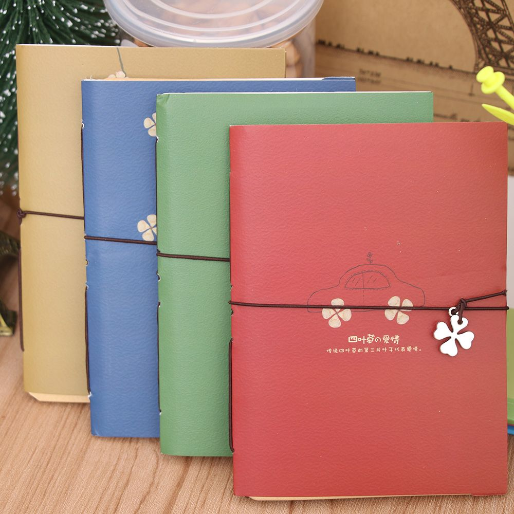 1Pcs Stationery String Retro Mini Notes Classic Pocket Journal Pages Blank Diary Notebook Planner School Supplies