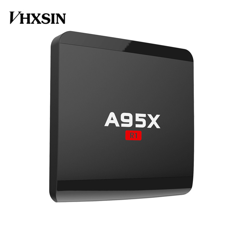 VHXSIN A95X R1 5pcs lot amlogic S905W Android 7 1 TV Box Quad core 1GB 8GB