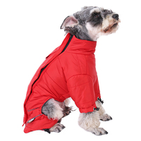 Pet Clothes Dog Winter Clothing Large Dog Waterproof Reflective Thick Warm Apparel High Quality Clothes For Big Dog Pet Supplies