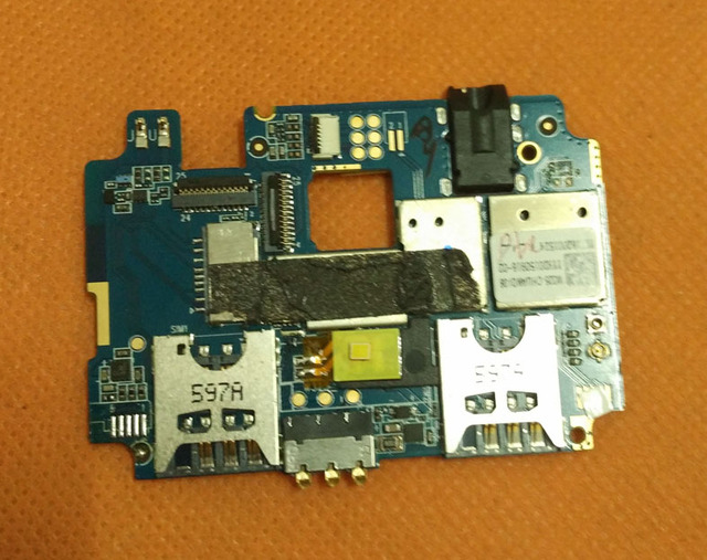 "Used Original mainboard 1G+16G Motherboard for CUBOT P12 MTK6580 Quad Core 5.0"" HD 1280x720 Free shipping"