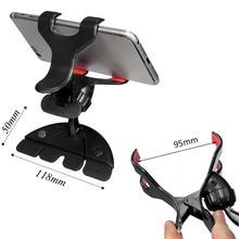 360 Slot de CD Carro Universal Holder Clip Mount Cradle Suporte Para Telemóveis GPS