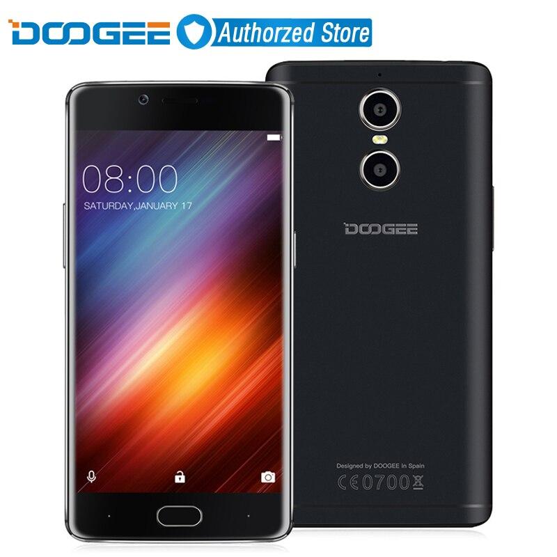 Цена за Doogee стрелять 1 двойной камеры заднего вида отпечатков пальцев мобильный телефон 5.5 дюймов MTK6737T FHD Quad Core Android 6.0 2 ГБ + 16 ГБ 13MP Камера 4 Г LTE