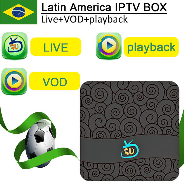 US $95 0 |Hot Gotv digital Smart Brazil Latin iptv box Live + VOD +  Playback having most popular channels with 2year service time-in Set-top  Boxes