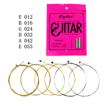 6pcs / set 012-053 Akoestische gitaar String Phosphor Bronze Strings