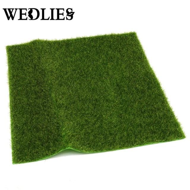 garden mat. realistic simulation grass mat green artificial lawns 30x30cm small turf carpets fake sod home garden moss a