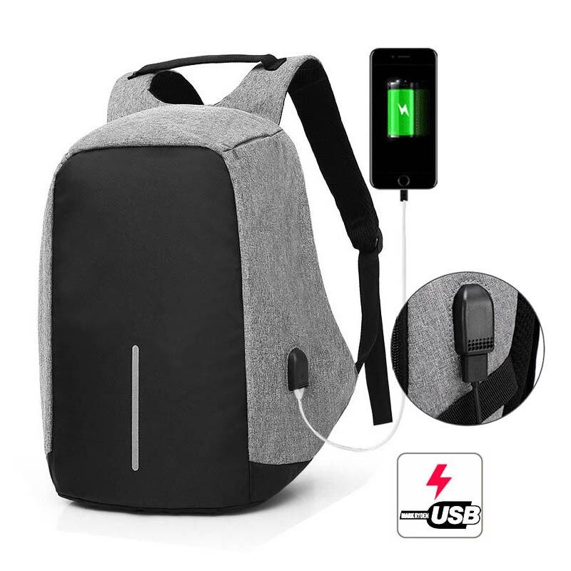 100% Wahr Anti Diebstahl Laptop Rucksack Mochila Antirrobo Männer Multifunktions Reisetasche Großhandel