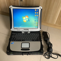 Secondhand Toughbook CF19 CF 19 Laptop Auto Maintenance Computer Water proof Military Core I5 hdd 500gb windows7 hard disk