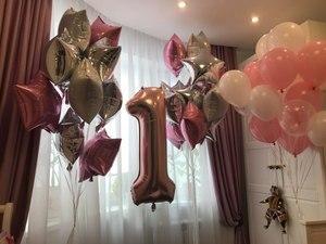 Image 4 - 12pcs 2.3g Pink White 2.8g Transparent Balloons Latex Helium Happy Birthday Party Supplies Baby Shower Wedding Decro Balls