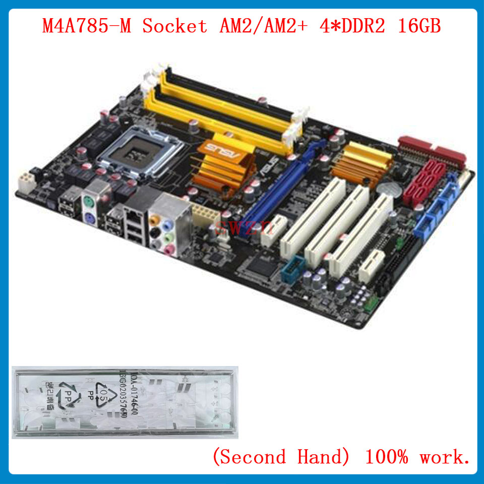 original Used Desktop motherboard For ASUS P5Q SE PLUS support LGA 775 4*DDR2 support 16G 6*SATA2 USB2.0 ATX asus ms g31mel support ddr2 775 pin integrated small plate g31 motherboard