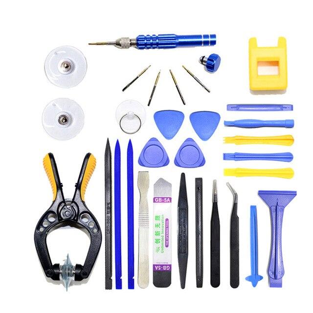 iphone repair kit. professional mobile phone repair tools kit spudger pry opening lcd screen tool screwdriver set pliers suction iphone