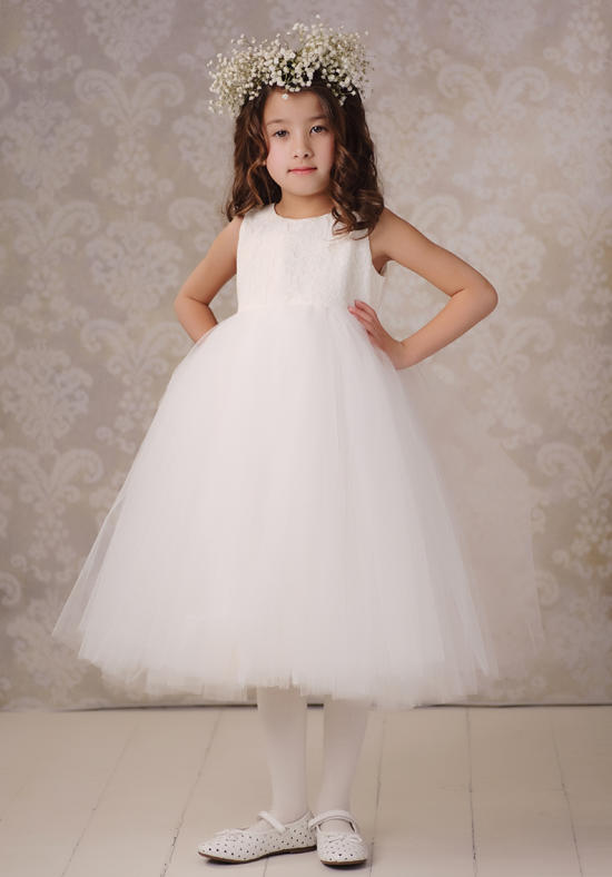 New Flower Girls Dresses For Wedding Gowns Tulle Glitz  Pageant Dresses for Little Girls A-Line Holy Communion For Girl Party blue pageant dresses for little girls a line spaghetti straps solid appliques crystal lace up flower girl first communion gowns